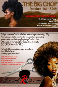 Natural Hair Rocks Salon 1st Annual Big CHOP !