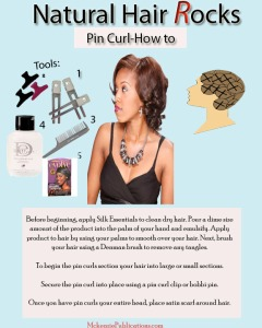 Pin Curl How to